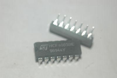 ST Microelectronics 10x HCF4025BE CMOS Triple 3-input NOR gate