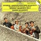 """Dvork: """"Amerikanisches Quartett"""" String Quartet Op. 96; Cypresses; Kodly: Quartet No. 2 (CD, Apr-1987, DG Deutsche Grammophon)"""