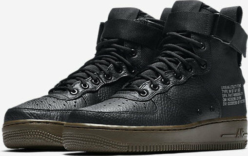 Women s Nike SF Air Force 1 Mid Shoes Black Dark Hazel Sz 8.5 Aa3966 003  for sale online  3ba445bc91