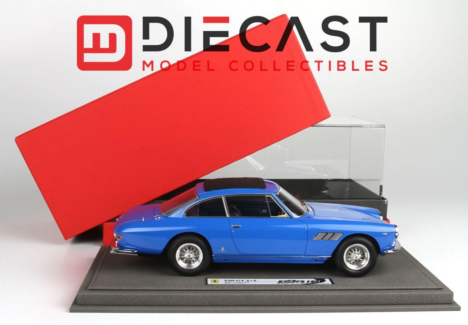 BBR 1 18TH échelle BBR1834B Ferrari 330GT 2+2 fermé toit voiture personnelle John Lennon