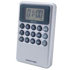 Küchenwecker Digital Schnelltasten Batterie Magnet Kurzzeitmesser Alarm Eieruhr