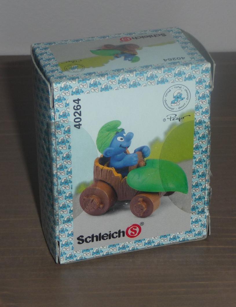 SUPER SCHTROUMPF en BOITE à 7.95€ Smurf Pitufo Schlumpf Puffi OVP Box