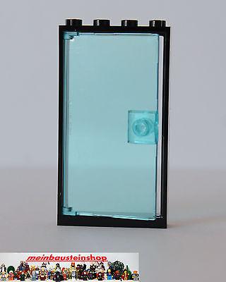 Tür Rahmen weiss 1x4x6 mit klar transparenter Tür LEGO 60596 60616 NEUWARE