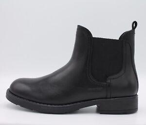 Geox-bottines-junior-en-cuir-lisse-noir-elastiques-linea-Sofia-art-J64D3A