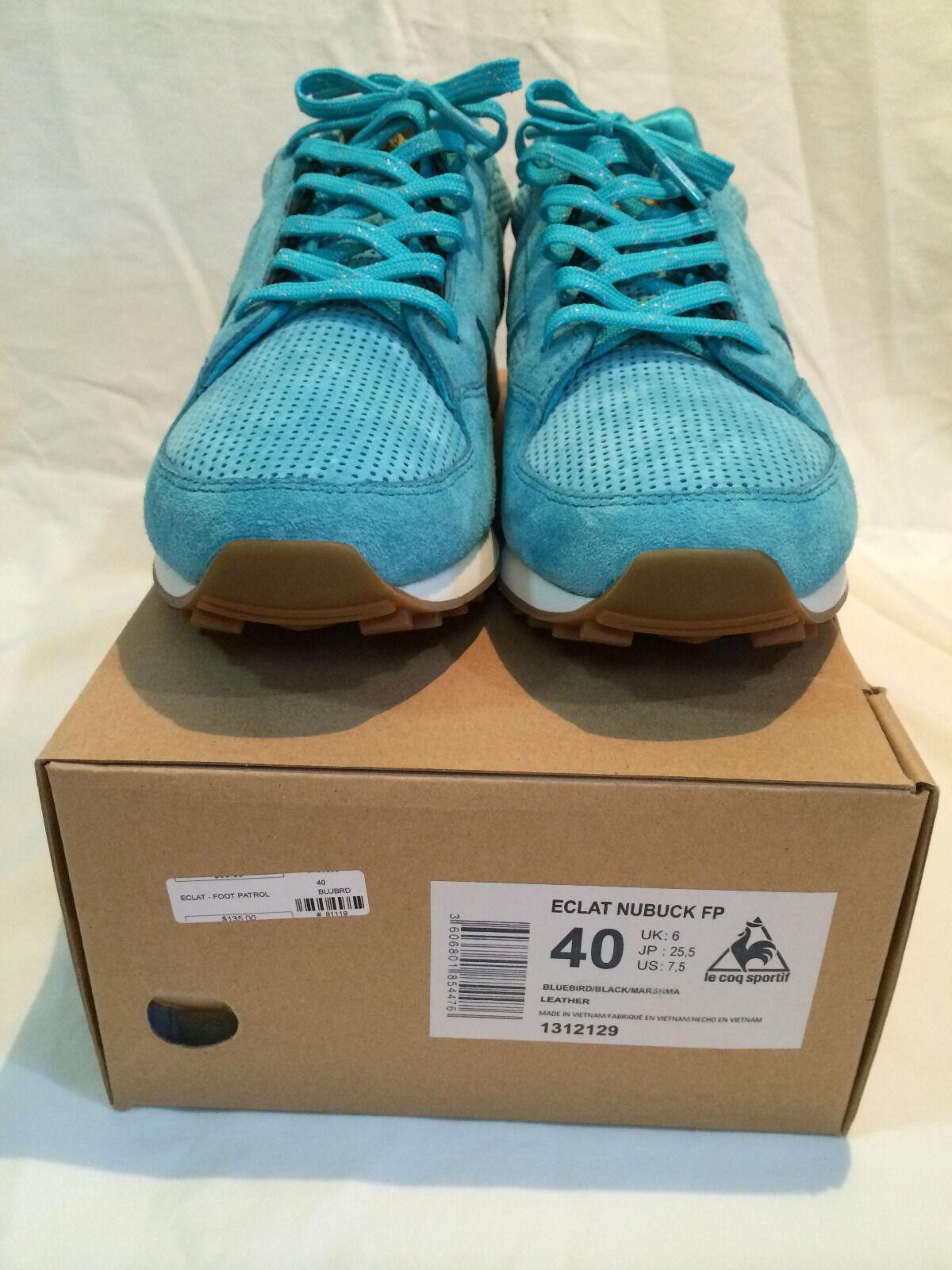 LE COQ SPORTIF Eclat X FOOT PATROL Sz US 7.5 UK6 EU40 Marcaron 1312129 2013