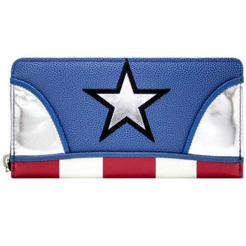 Official Captain America Stars /& Stripes Uniform Coin /& Card Purse *SECOND*
