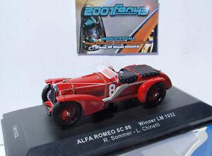 ALFA-ROMEO-8C-8-WINNER-PRIMERO-LE-MANS-1932-1-43-IXO-LM1932