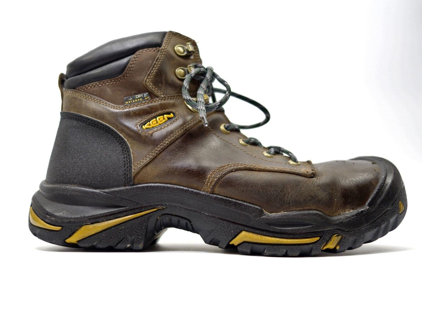 Keen Herren Mt Vernon Sicherheits 15.2cm Leder Stahlkappen Wasserdichte Sicherheits Vernon Stiefel 288ae2