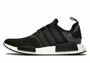 315a8fb872ce0 Adidas NMD R1 Black Grey Wool Mesh Size 10.5. DB0544 yeezy ultra ...