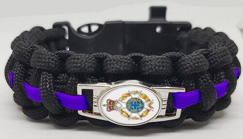 Royal Army Chaplains Badged Survival Bracelet