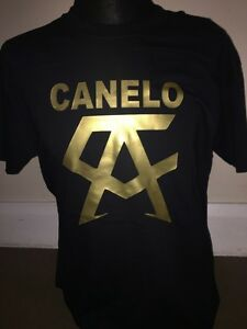5c87131d2 CANELO ALVAREZ TSHIRT BOXING GYM WORKOUT TSHIRT TEAM TEAM CANELO   eBay