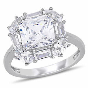 Haylee-Jewels-Sterling-Silver-Cubic-Zirconia-Clustered-Halo-Engagement-Ring