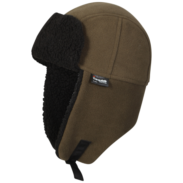 42fe3df5d8a853 Proclimate Mens Waterproof & Windproof Thinsulate Trapper Hat - Olive