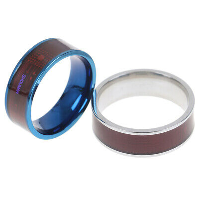 2019 Magic NFC Smart Ring Titanium Diamond Wearable Mobile Phone Android Fo E4B2
