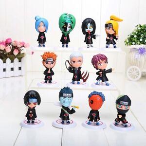 11-Stk-Naruto-Figuren-Sammlung-Japan-Manga-Uchiha-Action-Film-DVD-Serie-Figur