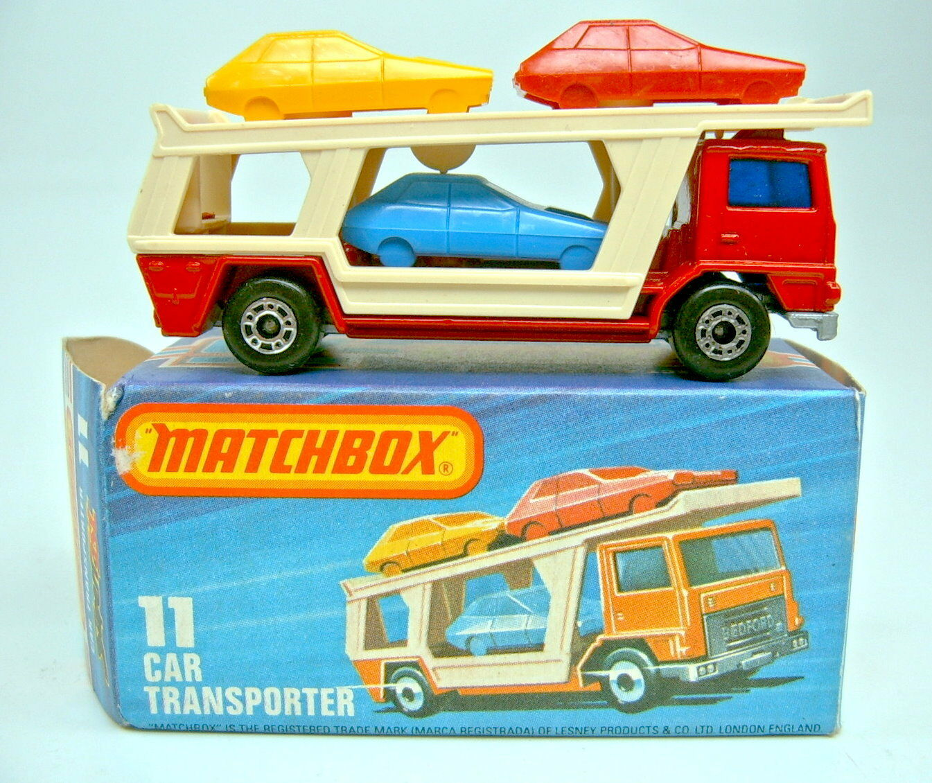 ventas en linea Matchbox súperfast nº 11c Coche Transporter rojo plata la la la placa base raras  directo de fábrica