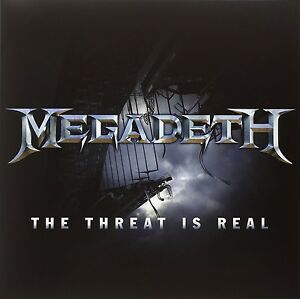 """Megadeth-the threat is real/Foreign Policy (12"""") SINGLE VINILE LP NUOVO Single"""