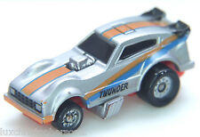 Micro Machines  PLYMOUTH Arrow Funny Car - SILVER/BLUE/ORANGE - Galoob