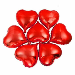 """32/"""" Giant Red Heart Foil Helium Balloons Valentines Day Wedding Party Engagement"""