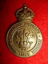 M4 - Princess Patricia's Canadian Light Infantry Cap Badge WW2