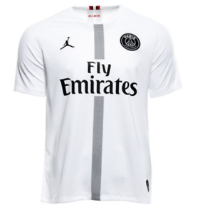 official photos 21a3d 12d16 Details about Nike Paris Saint Germain PSG Vapor Match Third Jersey White  Small authentic $175