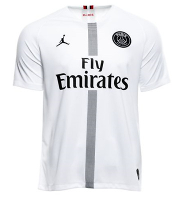 sneakers for cheap 5f37e 5652d Nike Paris Saint Germain PSG Vapor Match Third Jersey White Small authentic  $175 | eBay