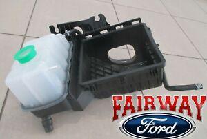 11-14 Radiator Tank Coolant Overflow Ford Mustang Reservoir Bottle OEM Factory
