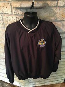 Sovereign-Oneida-Nation-Of-Wisconsin-Pullover-Windbreaker-Jacket-Coat-Sz-Large