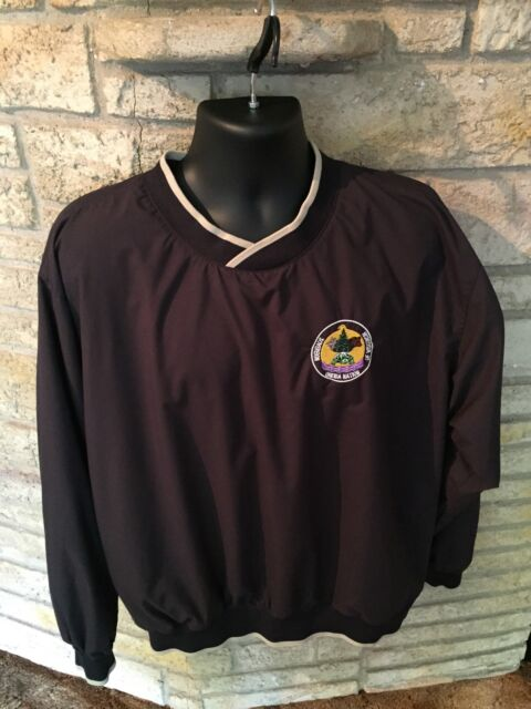 Sovereign Oneida Nation Of Wisconsin Pullover Windbreaker Jacket Coat. Sz Large