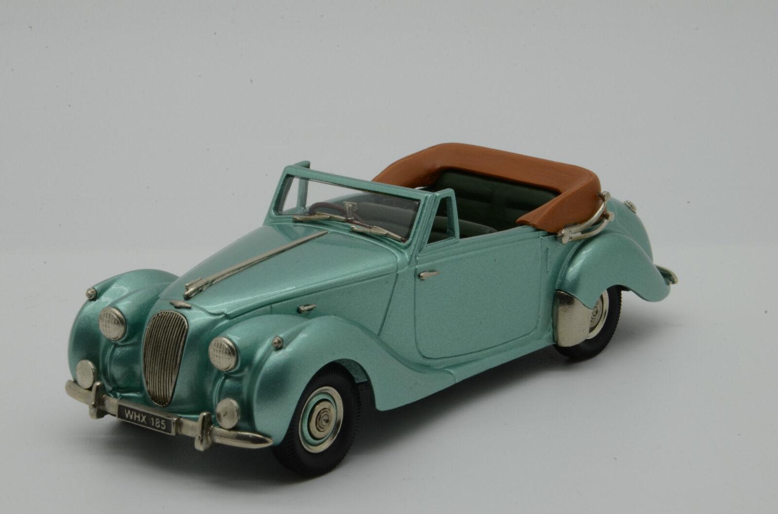 Rare  Lagonda 2.6 Litre Drophead Coupe Brooklin LDM 58 1/43