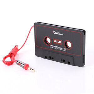 AUX-Auto-Cassette-to-MP3-CD-iPod-Tape-Audio-Adapter-Converter-Kassettenadapter