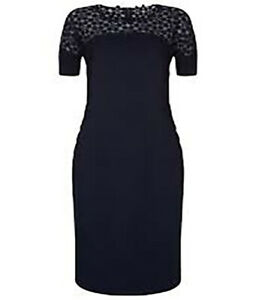 Damsel-in-a-dress-Navy-Mara-Shift-Dress-Size-UK-14-EU-42-US-10