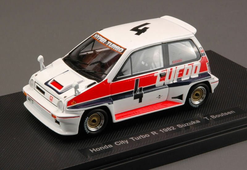 Honda City Turbo R  4 Suzuka 1982 T. Boutsen 1 43 Model 44472 EBBRO