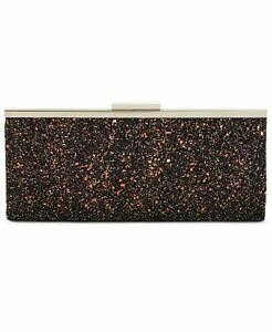 INC-International-Concepts-Carolyn-Cake-Glitter-Clutch-Bag-Black-Charcoal