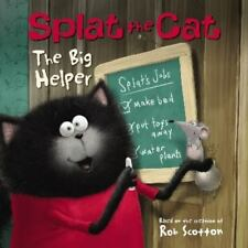 Splat the Cat: The Big Helper by Rob Scotton (2015, Paperback)