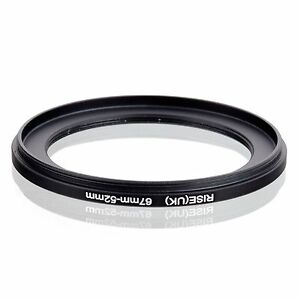 Adaptador filtro step-down anillo adaptador 67mm-58mm 67-58
