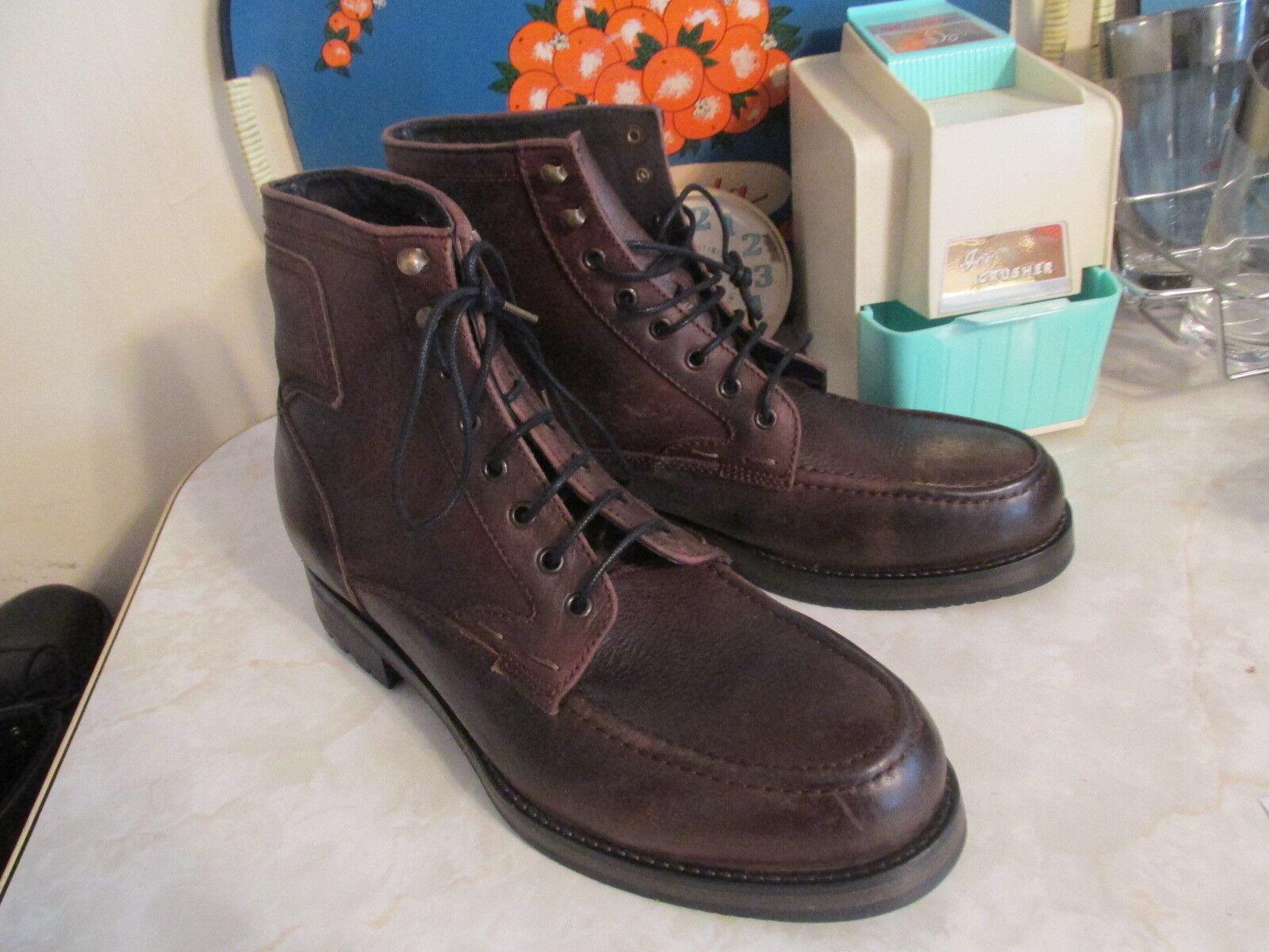 H by Hudson Thruxton Para Hombre De Cuero botas. Talla eu 43 nos 10