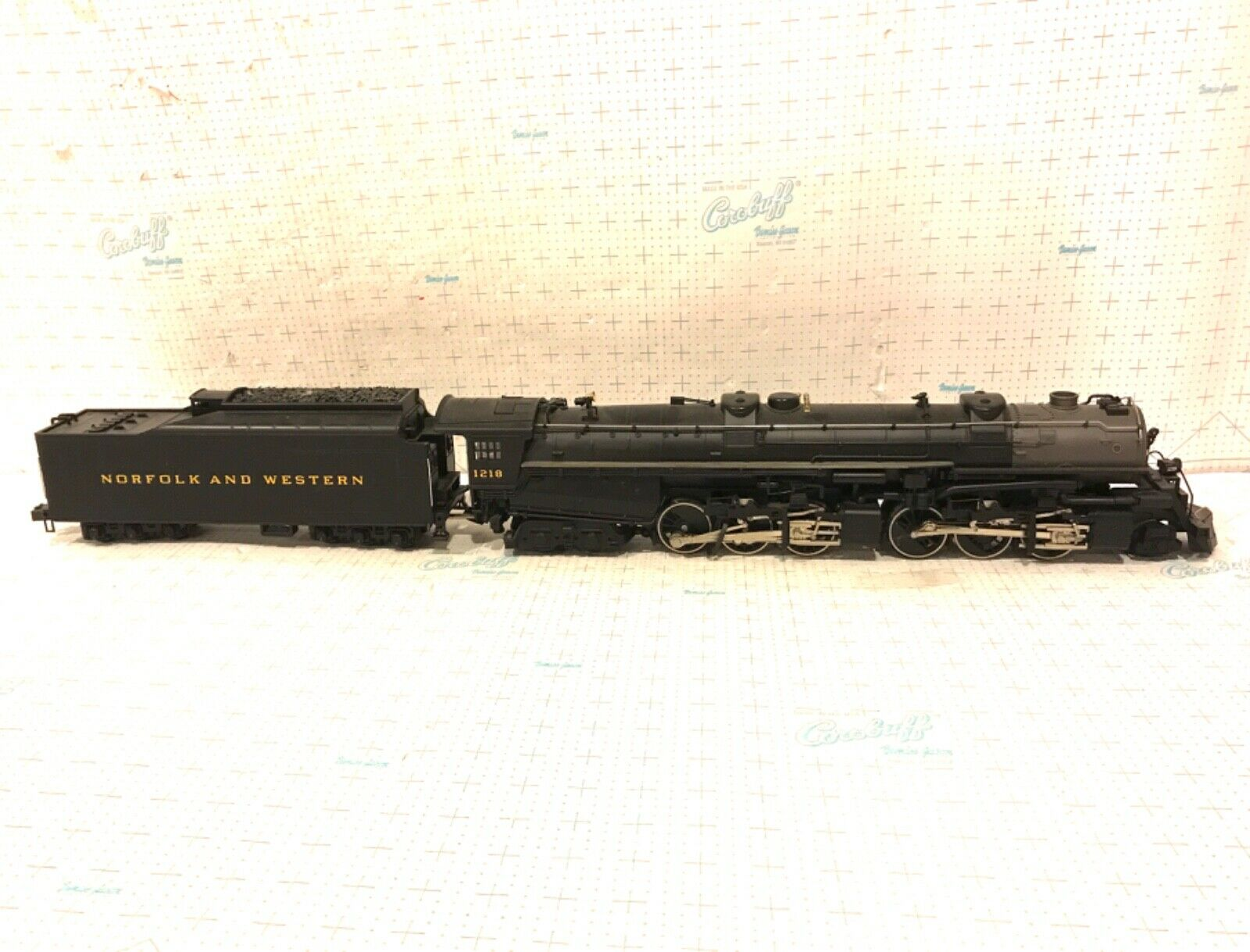 MTH O SCALE 20-3036-1 Norfolk & Western 2-6-6-4 Class A Steamer Locomotive OB