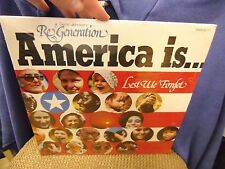 Derric Johnson Re'Generation America Is LP 1975 Impact Sealed