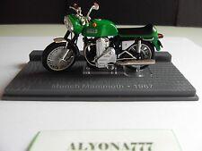 1/24 Ixo Munch Mammoth 1967 Green Bike Motorcycle 1:24 Altaja / IXO *NEW*