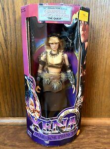 "Gabrielle Vintage Xena Warrior Princess 12"" Figure Doll New NIB 1999 Toybiz 90s"