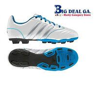 Adidas Matteo Nua Trx Fg White/silver/blue V21868 Athletic Shoes In Box