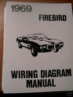 1969 Pontiac Firebird Trans Am Wiring Manual Ebay