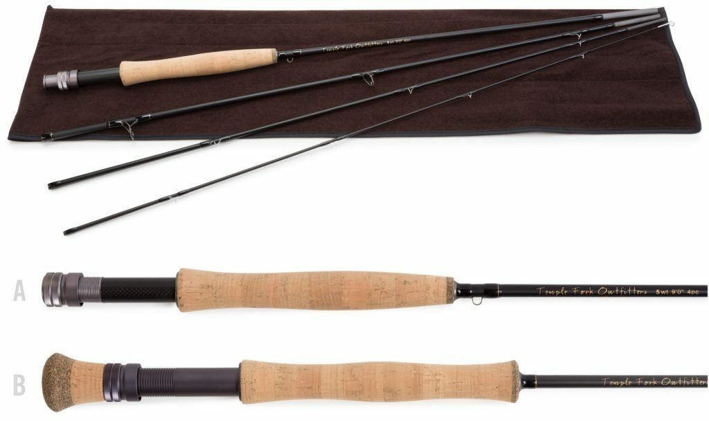 Temple Fork Pro Series  2 Fly Rod 5 wt. 7'6  4 pc.  hot sale