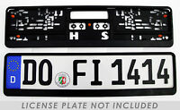 German License Plate Frame / Euro License Plate Frame Bmw Vw Mercedes Mini Audi