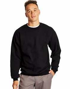 Hanes-Ultimate-Sweatshirt-Crewneck-Cotton-Heavyweight-Adult-Fleece-S-to-3XL-Mens