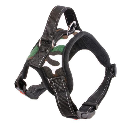 No Pull Adjustable Dog Pet Vest Harness Quality Nylon Small//Medium//Large//XL XXL
