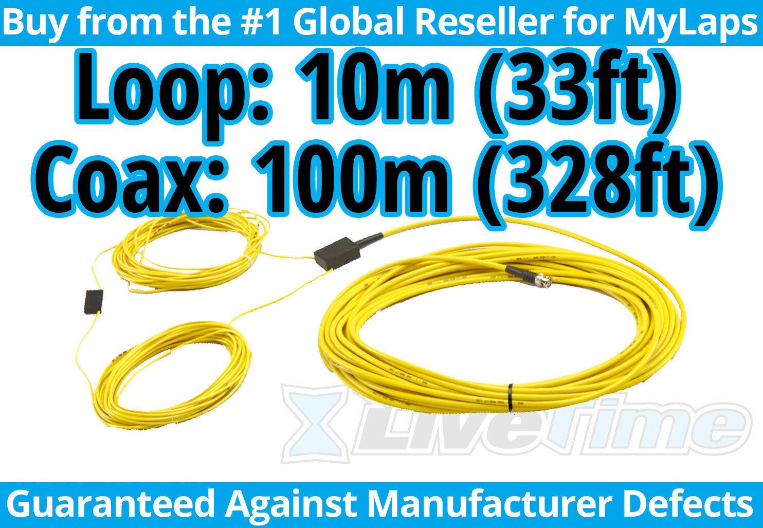 Mylaps 10m Loop con conexión 100m Caja (AMB, RC coches, coches R C) - Nuevo
