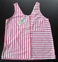 Together (spiegel) Knit Topsleevelesspink-white Stripesnwt- Misses M