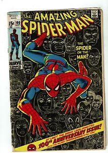 Amazing-Spider-Man-100-GD-VG-3-0-Spider-Man-Gets-6-Arms-Anniversary